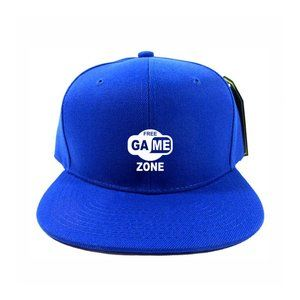 Game Zone Hat Cap One Size Adjustable Snapback